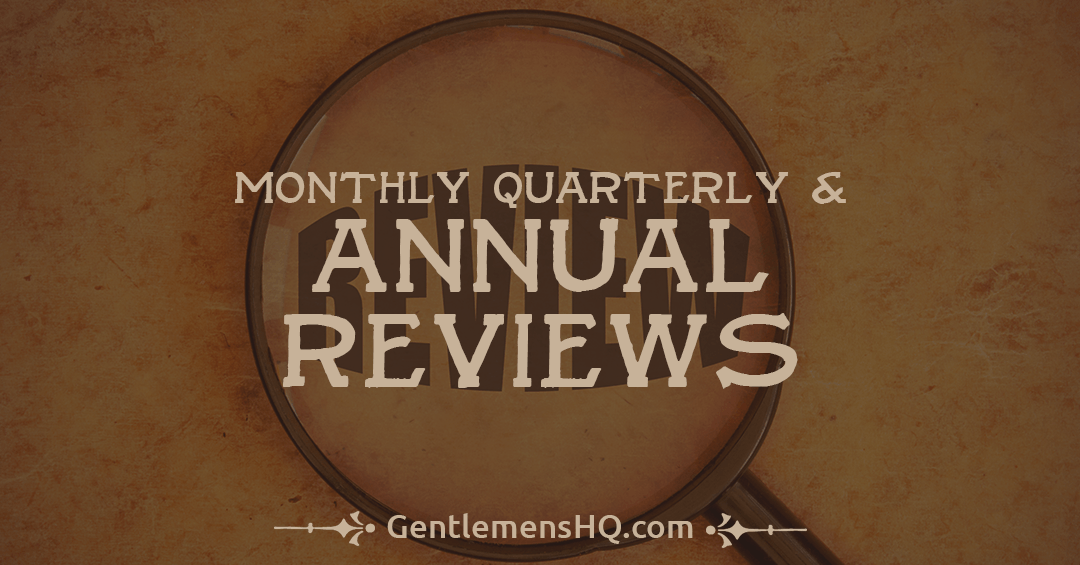 How I Do My Monthly, Quarterly and Annual Reviews